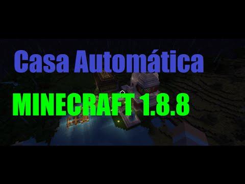 Casa Autom Tica Minecraft 1 8 8 Youtube