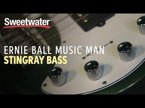 Ernie Ball Music Man StingRay Bass Demo