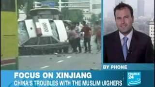 Xinjiang riots :france24
