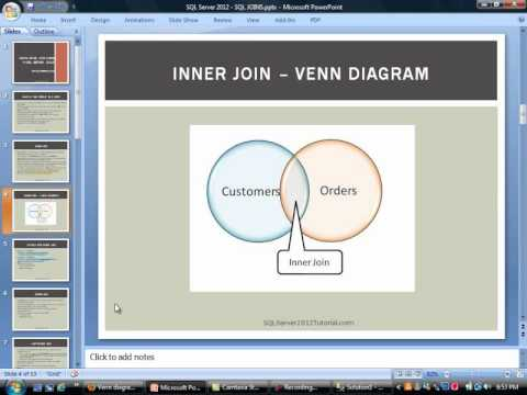Learn Microsoft Sql Server 2012 Using Sql Joins Inner And Outer