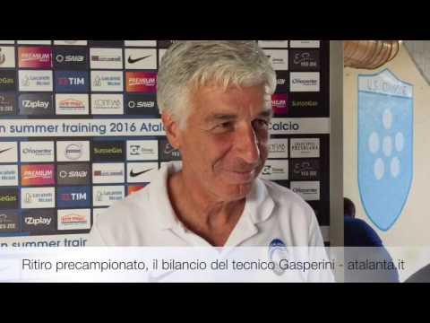 Gian Piero Gasperini commenta il ritiro precampionato