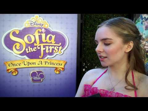 """Sofia The First"" Movie Premiere - Darcy Rose Byrnes (Amber)"