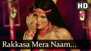 Raqqasa Mera Naam - Zeenat Aman - Amitabh - The Great Gambler - Hindi Item Songs - Belly Dancing