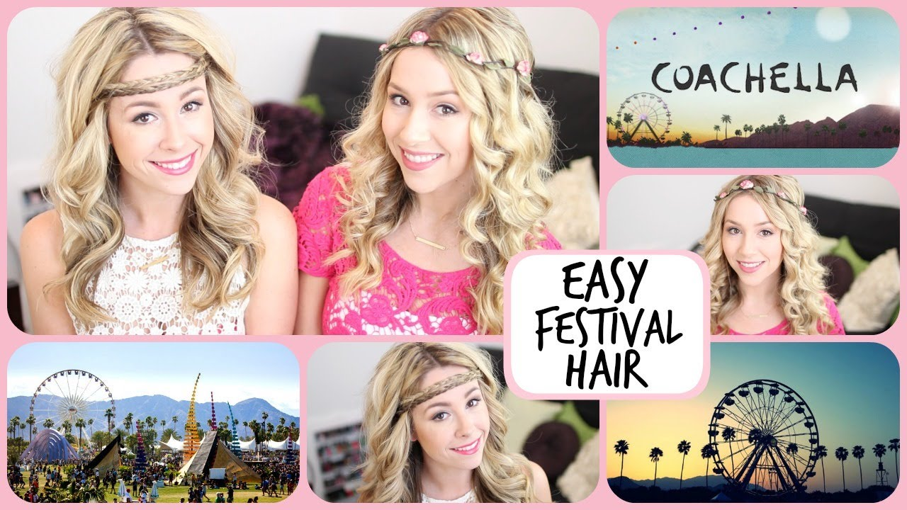Quick And Easy Hairstyles Festival Style