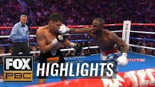 Yordenis Ugas secures win by unanimous decision over Omar Figueroa Jr. | HIGHLIGHTS | PBC ON FOX