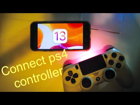 How to Connect PS4 Controller To iPhone *ios 13*