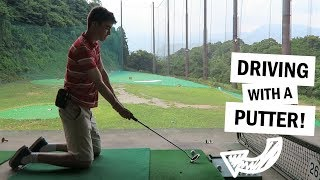 Japan Day 5 - GOLF IS A BIT DIFFERENT HERE!