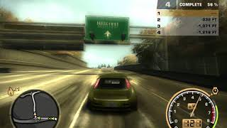 """NFS Most Wanted Test Drive """"Fiat Punto"""""""