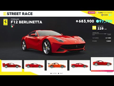 The Crew 2 - All Cars and Vehicles List