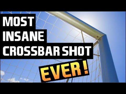 most-insane-crossbar-shot-ever!!!