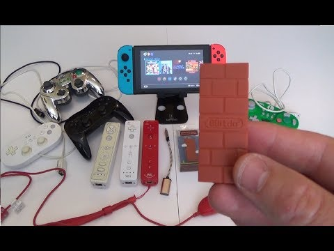 Using Wii Controllers on the Nintendo Switch with 8Bitdo Adapter