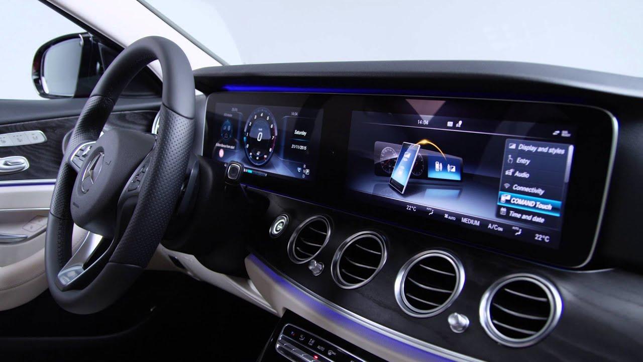 Yeni Mercedes Benz E Serisi 2016 Kokpit İ 231 Mekan Youtube