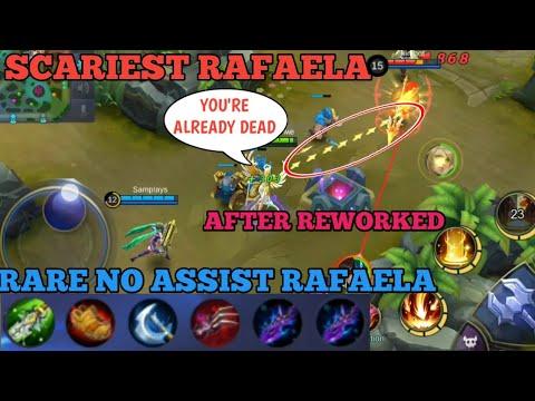 SCARIEST RAFAELA | RAFAELA TROLL AFTER REWORKED | MOBILE LEGENDS