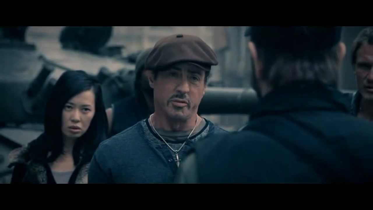 the expendables 2   introducing booker - youtube