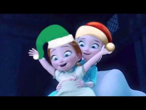 Frozen Christmas.Frozen Christmas Song Jingle Bells