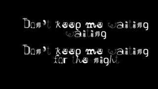 Nelly Furtado- Waiting for the night lyrics