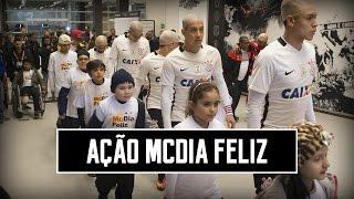 Ação McDia Feliz | Corinthians 2x1 Vitória