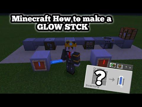 ✔Minecraft How to make a Glow stick