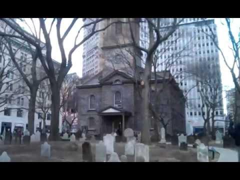 Trinity Church, Downtown Manhattan, New York City.