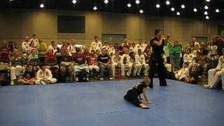 Taekwondo World Championship Extreme Synchronozed Form (Garrett George Matthew Sweat)