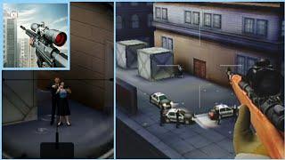 Sniper 3D: meilleur jeu de tir gameplay 0-6/30 missions #1 how to play screenshot 1