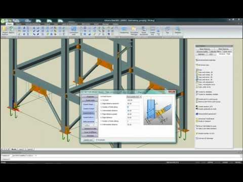 Advance Steel 2012 - Groupement des connexions identiques