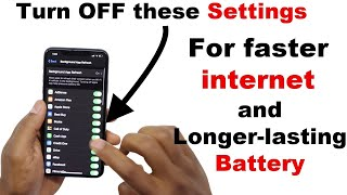Make your iPhone internet faster / speed up your internet