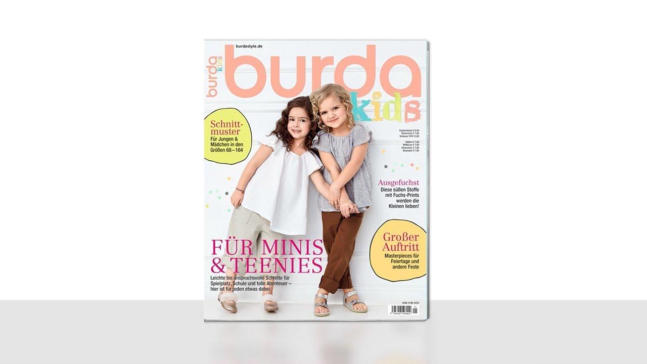 einblick in die burda kids f/s 2018 - youtube