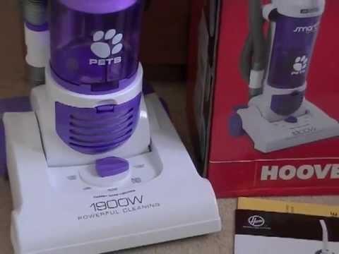 Hoover Smart Pets Upright Bagless Vacuum Cleaner For Sale On Ebay UK
