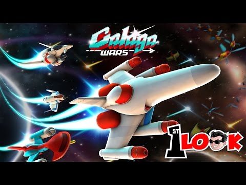 GALAGA WARS - Reviving A Classic Shoot 'Em Up (1st Look IOS / Android Gameplay)