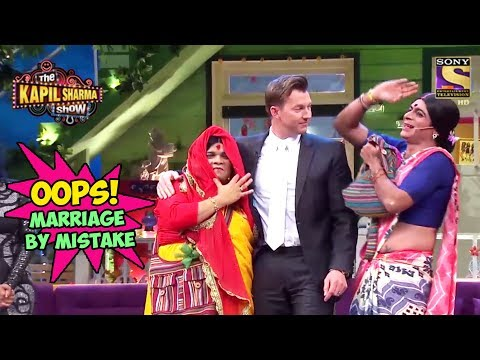 Brett Lee Marries Santosh By Mistake – The Kapil Sharma Show