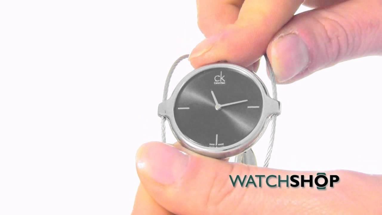 fda658eed0b Calvin Klein Ladies  Agile Watch (K2Z2S111) - YouTube