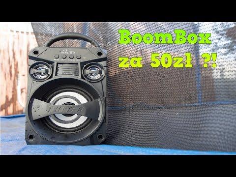 Tani BoomBox za 50zł MediaTech MT3155? Test!!