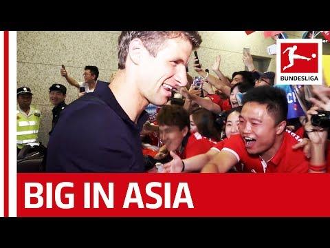 Bayern, Dortmund, Schalke - Bundesliga Mania in Asia