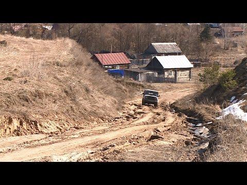 Жители пензенской Лопуховки просят отремонтировать дорогу