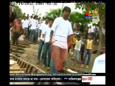 ATN Bangla TV Broadcasting Buriganga River Cleaning Project of Smile Foundation!-Bangladesh