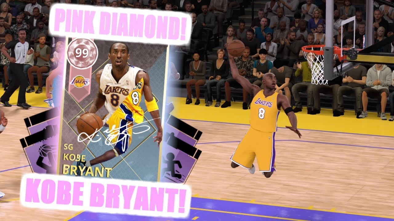 3f05214206 NBA2K18 MyTeam Turning Diamond Kobe into Pink Diamond Kobe!!! Insane ...