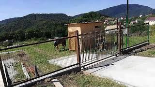Строю дом в сочи 3 часть Сделать ворота откатные своими руками