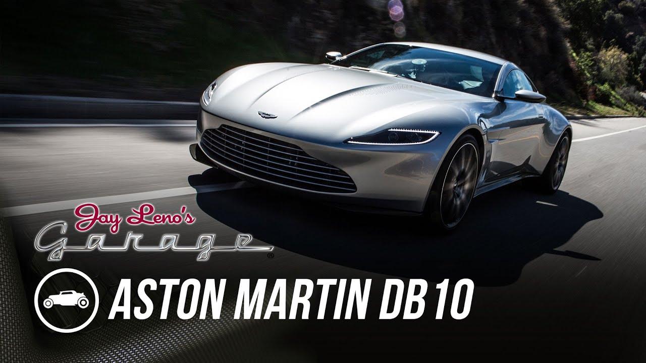james bond's 2016 aston martin db10 - jay leno's garage - youtube