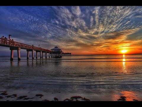 Fort Myers Beach Pier Sunset Adventure