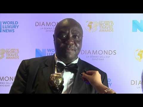 Charles Muia, Country Manager, Serena Rwanda - Kigali Serena Hotel