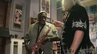 Saxgourmet Category Five tenor saxophone with Big Hank Freeman