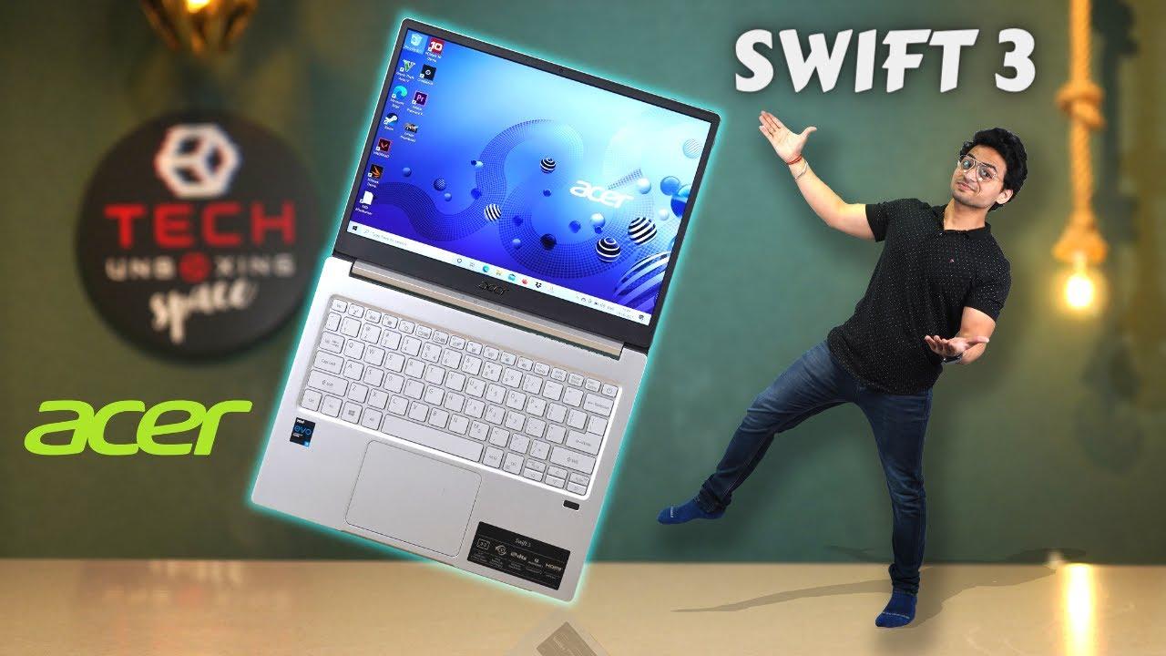 Acer Swift 3 | Core i5 11th Gen EVO Platform 🚀| Best In Class Laptop 💻| Tech Unboxing 🔥