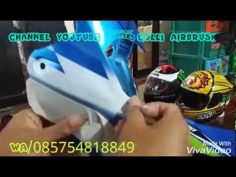 """Airbrush trick part 2""""Colli Airbrush"""""""