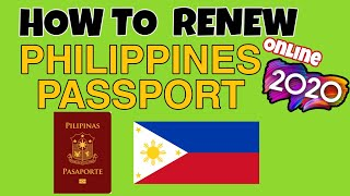 PAANO MAG RENEW NG PASSPORT ONLINE 2020 | DFA PASSPORT | RENEW PHILIPPINES PASSPORT ONLINE #dfa2020