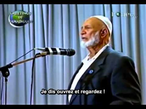 comment faire fuir un missionnaire chr tien sheikh ahmed deedat youtube. Black Bedroom Furniture Sets. Home Design Ideas