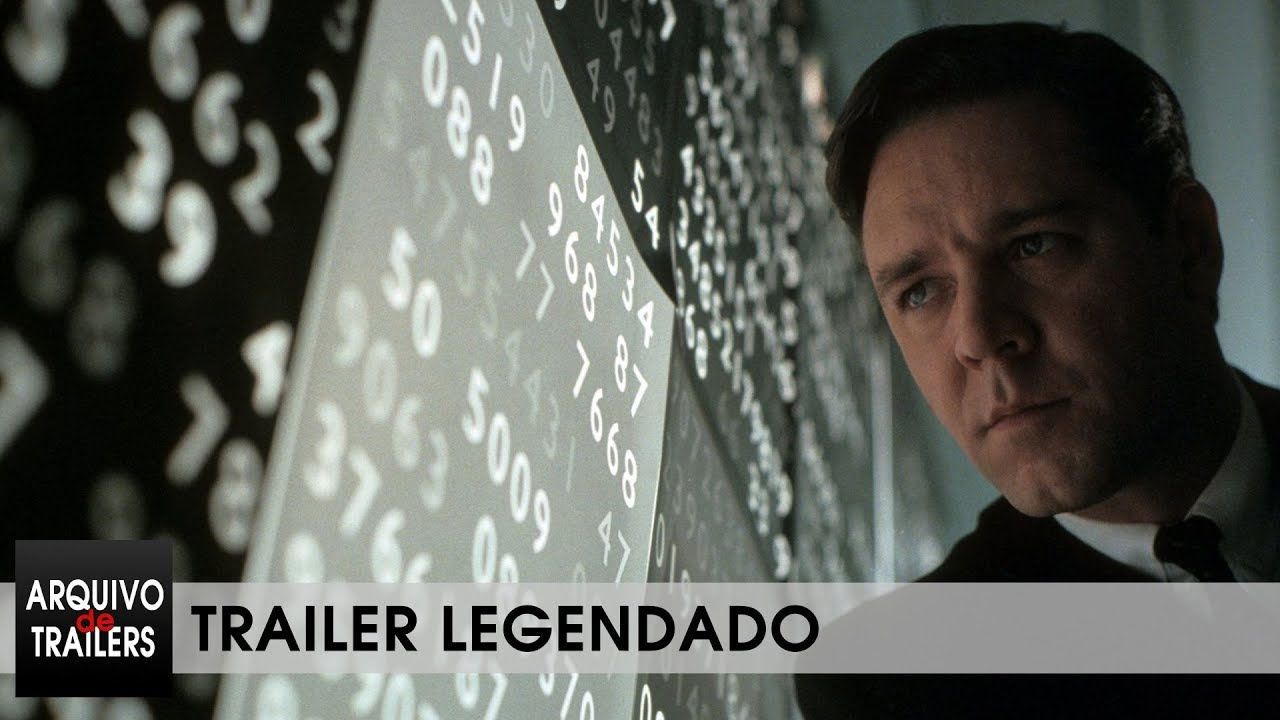 Uma Mente Brilhante (A Beautiful Mind 2001) - Trailer Legendado