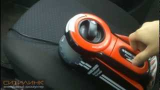 видео Пылесос автомобильный Black&Decker ADV1220