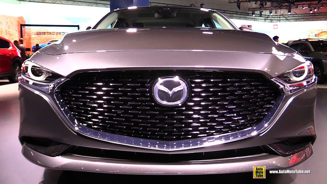 2019 Mazda 3 Sedan Exterior And Interior Walkaround Debut At 2018 La Auto Show Youtube