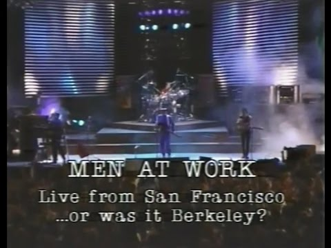 Men At Work - Live in San Francisco...or was it Berkeley? 1983